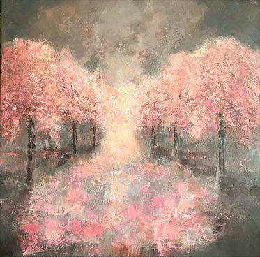 Blossom in the Rain £300