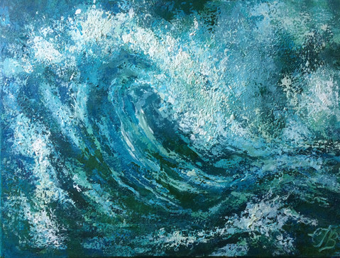 Wave Study 3 SOLD