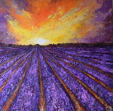 Lavender Landscape  £398