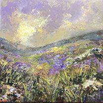 Moorland landscape no2 SOLD