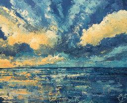 Blue Seascape £370