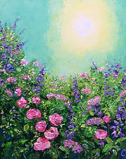 Flowers in the sun £300