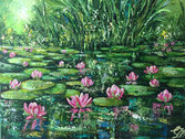 Reflections on a Pond £350