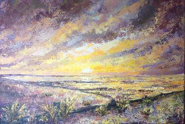 A Seasalter Sunset £500