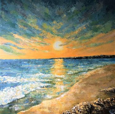 Beach Sunrise SOLD