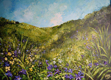 The Valley in Spring £220