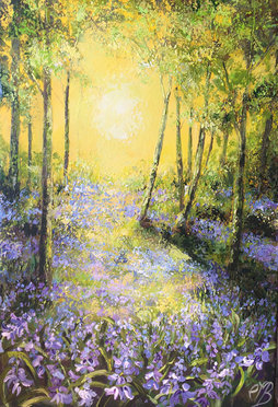 Return to the Blue wood SOLD