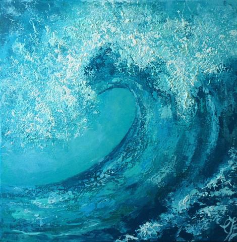 Wave study no 2 £225
