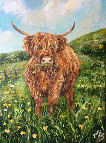 Daisy in Buttercups £225
