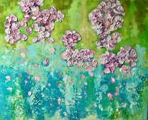 Blossom in the Rain £270