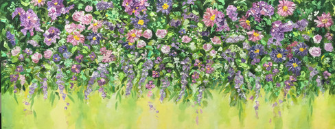 Flower Wall £750