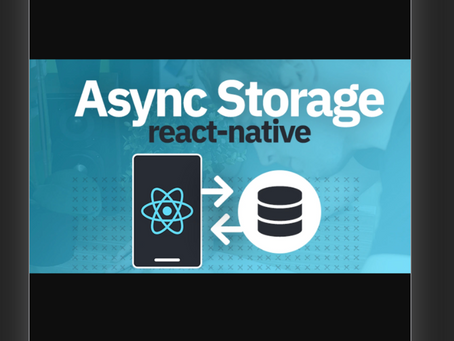 Using Local Storage in React-Native with Your Own Custom useAsyncStorage() Hook