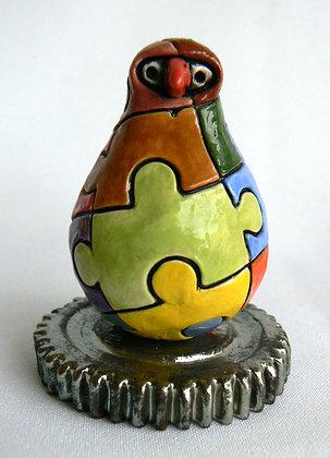 Jigsaw Cog Bird