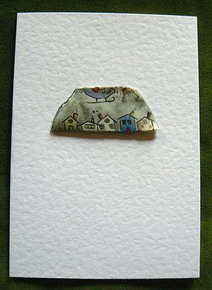 Christmas Card - Roofs