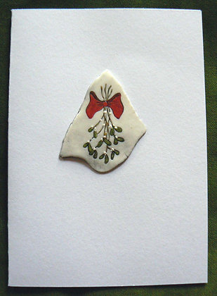 Christmas Card - Misteltoe