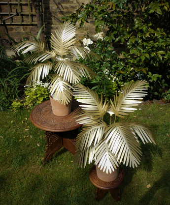 Gold Palm Trees by Upside Found