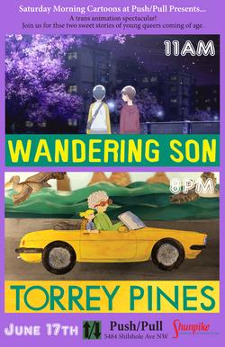 torrey pines_wandering son poster