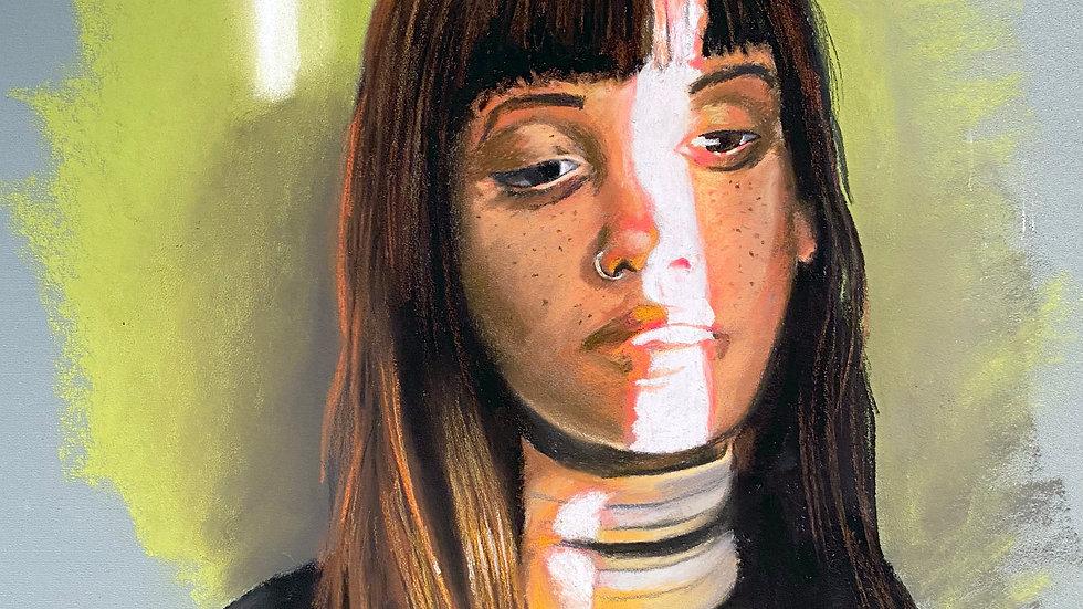 Pastel Portrait Study 2