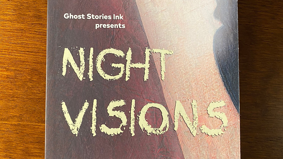 """"""" Night Visions"""" anthology signed book"""