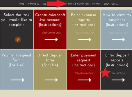 Client Portal Instructional Videos