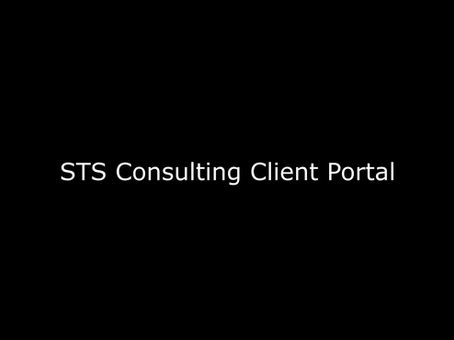THE STS CLIENT PORTAL:                 BETTER FINANCIAL ORGANIZATION, FASTER FINANCIAL SERVICES