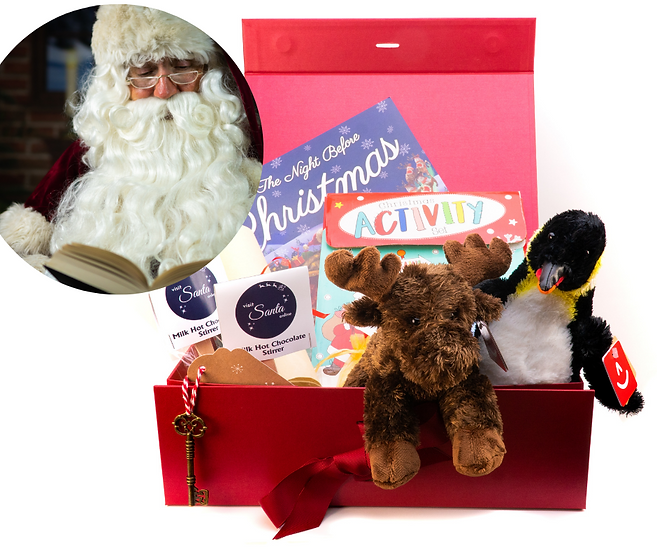 Deluxe Christmas Eve Box (filled) - contents for TWO children