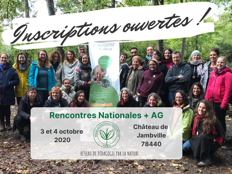 Rencontre Nationale + AG du RPPN 2020