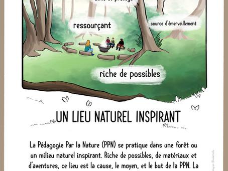 🌳💦🐞 Point-clé de PPN n°1 : Un lieu inspirant 🐞💦🌳