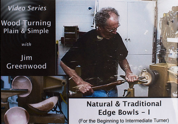 Natural & Traditional Edge Bowls - Series 1