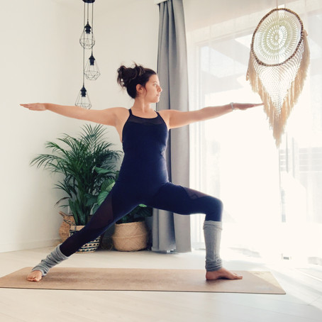CULTIVATE A CONSISTENT YOGA PRACTICE AT HOME