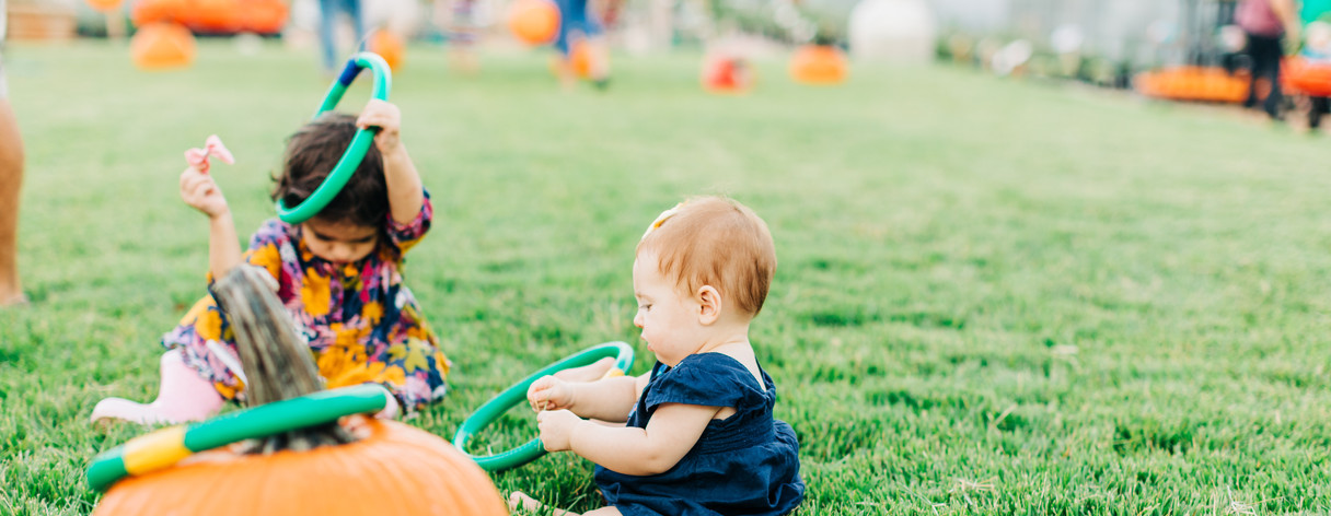 Everybody loves our Annual Pumpkin Play Days!