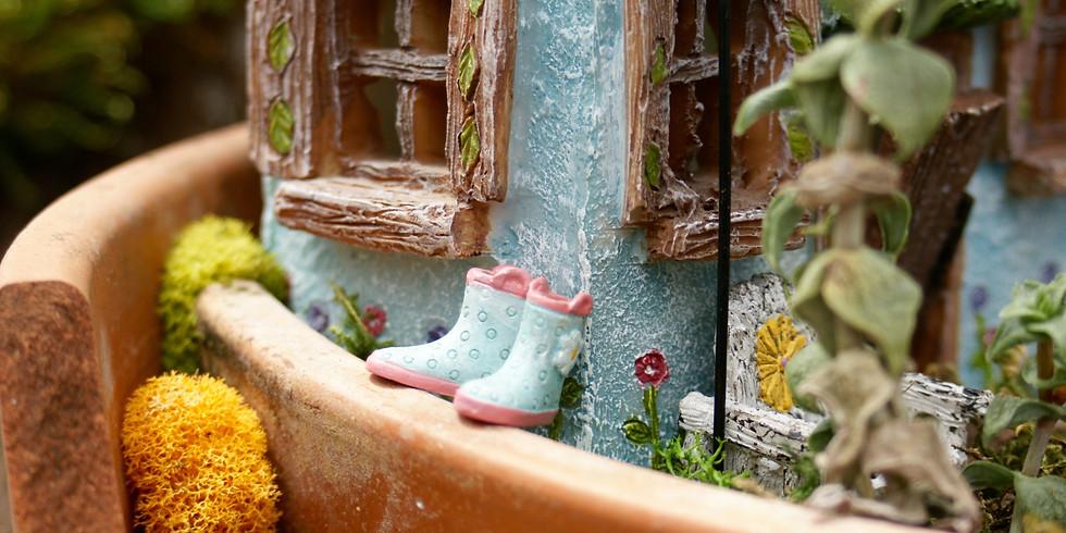 Fairy Garden Workshop (11:00 am - 12:00 pm) (1:00 pm -2:00 pm)