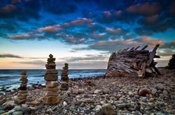 Piles of stones (MT016)