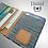 Thumbnail: Denim slim vegan leather wallet