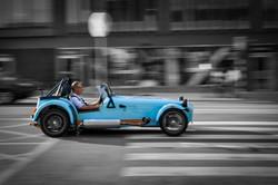 La macchina blu (SA015)
