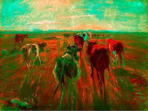 Holy Green Cow  (Historical Art)