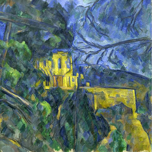 The yellow house (Historical art)