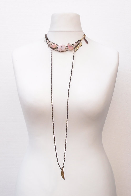 Pink - necklace by Frida Hultén
