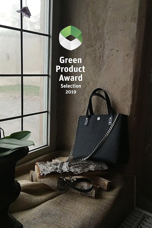 Sigtuna vegan bag with metal chain