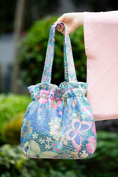 Big Pastel Flower Bag