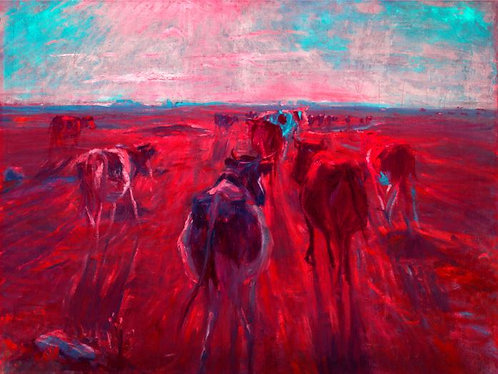 Holy Red Cow  (Historical Art)