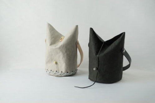 Vegan leather Dodo cat handbag