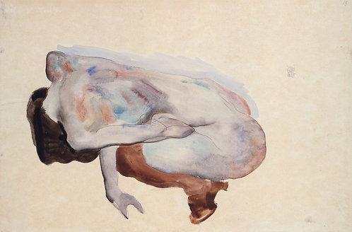 Crouching Nude (Historical Art)