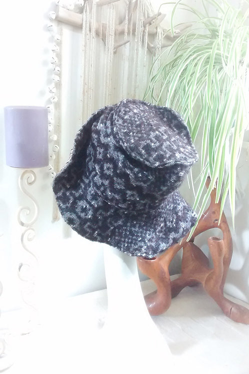 Rustic - recycled hat