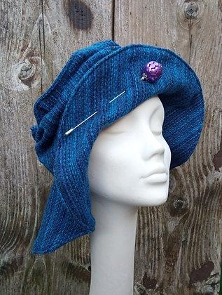 Sapphire - fabric hat