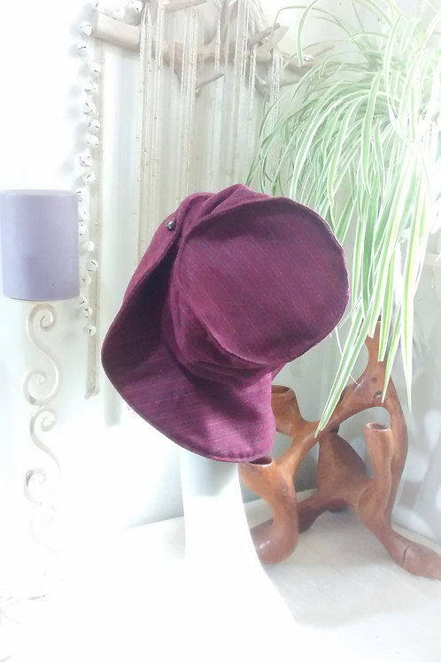 Ruby Red - recycled hat