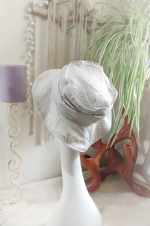 Checked out - recycled sunhat