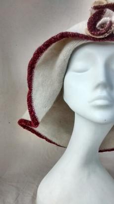 cream floppy felted hat art.jpg