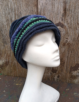 Green Flash - knitted hat