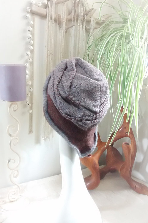 Terraces - felted hat